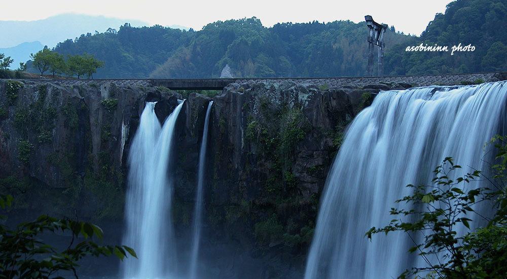原尻の滝ー3