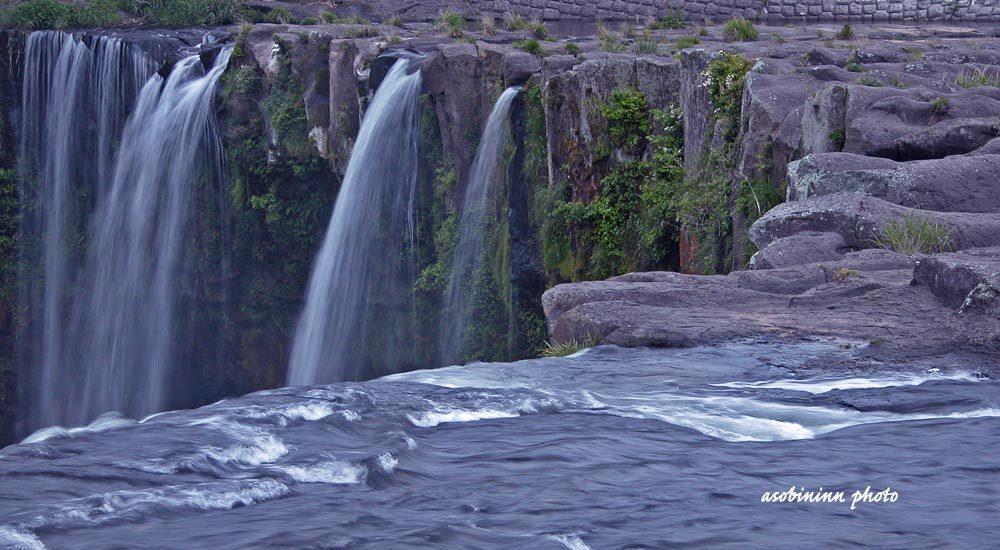 原尻の滝ー4