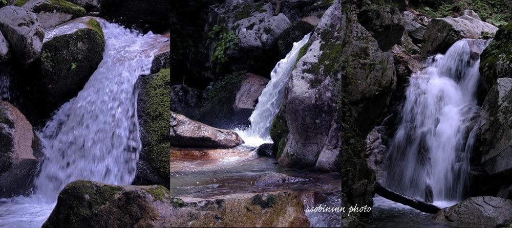 八ツ淵の滝-2