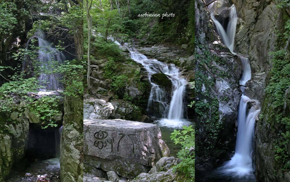 八ツ淵の滝-3