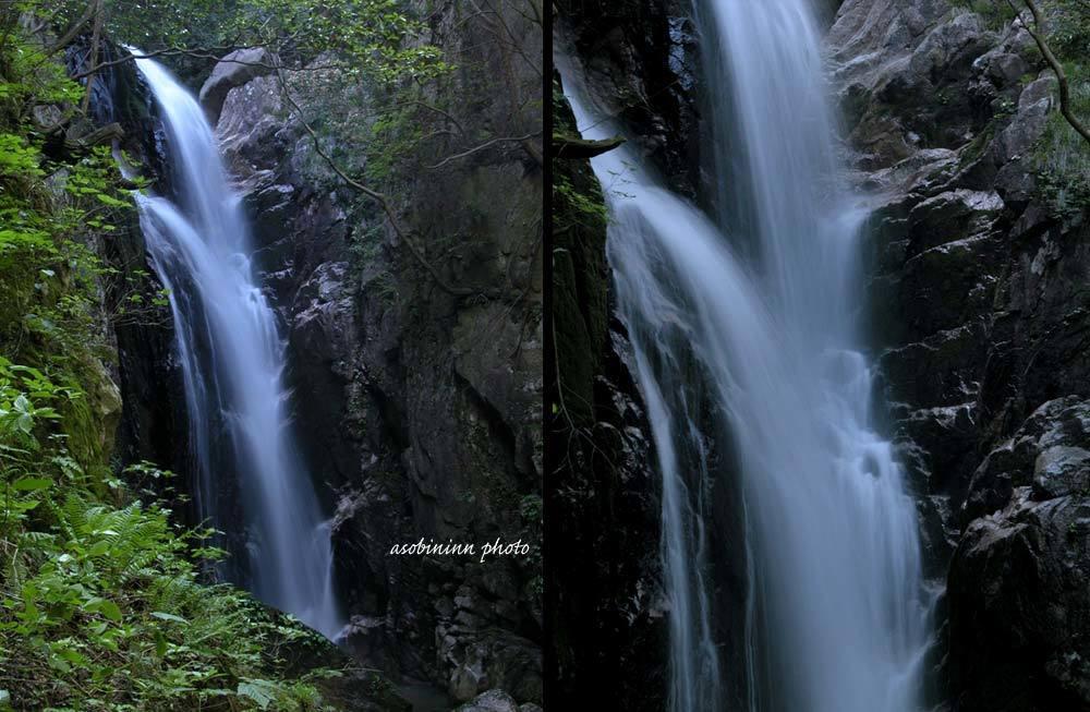 八ツ淵の滝-4