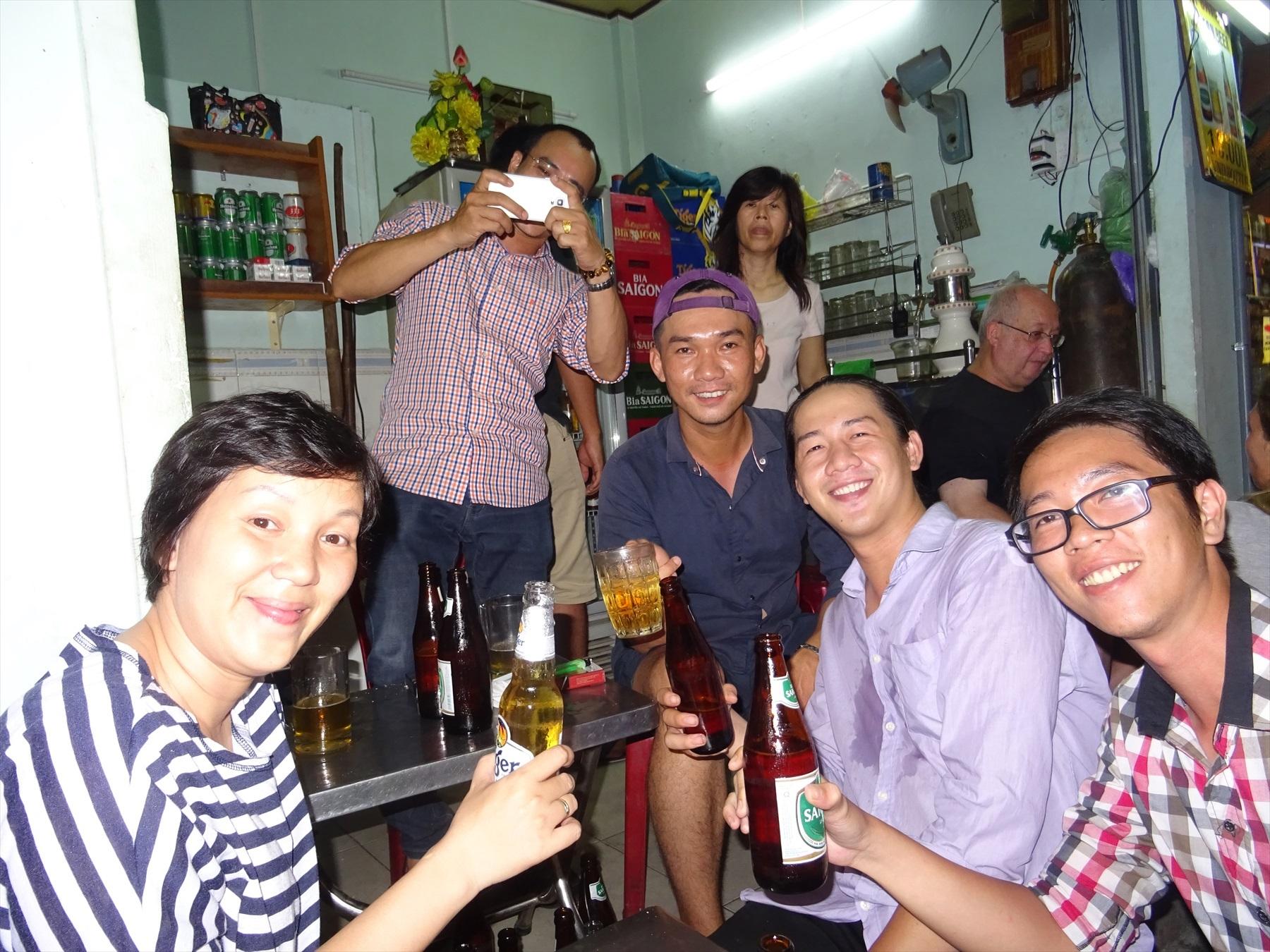 仲よくなったベトナム人たち