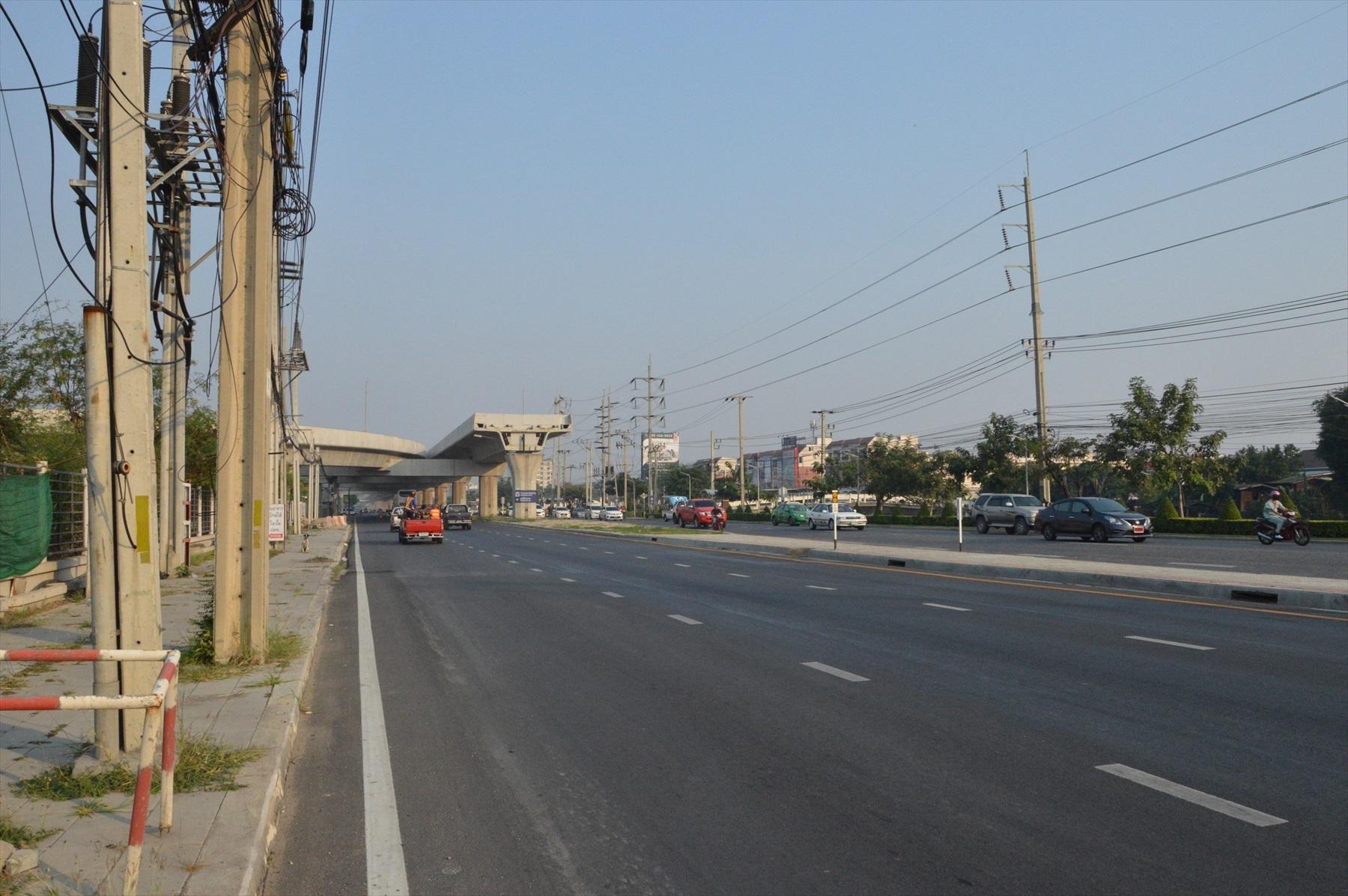 2018年12月に開通したBTSスクムビット線の延伸先