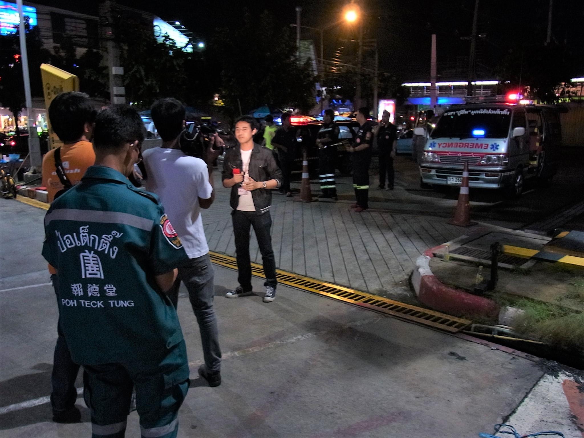 タイのTV取材も多いチームだった