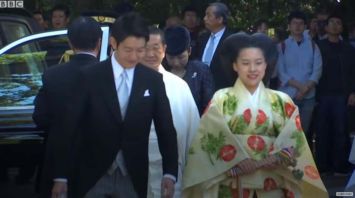 日本】 絢子さまご結婚 皇室の結...