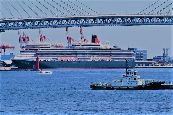 2019横浜港豪華客船来港(UK01)