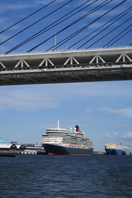 2019横浜港豪華客船来港(UK03)