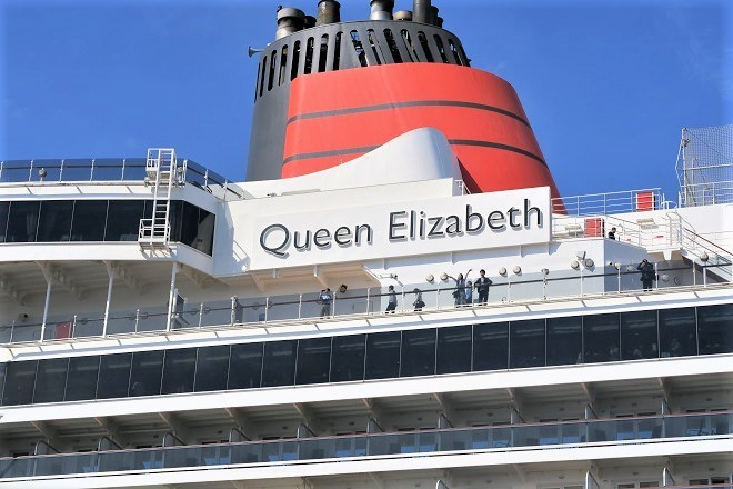 2019横浜港豪華客船来港(UK07)