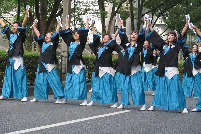 2019原宿スーパーよさこい(空)