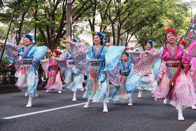2019原宿スーパーよさこい(ASOBISYSTEM21)