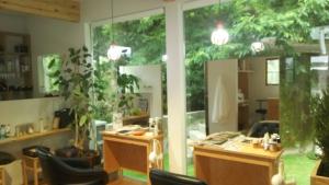 森の中の美容院