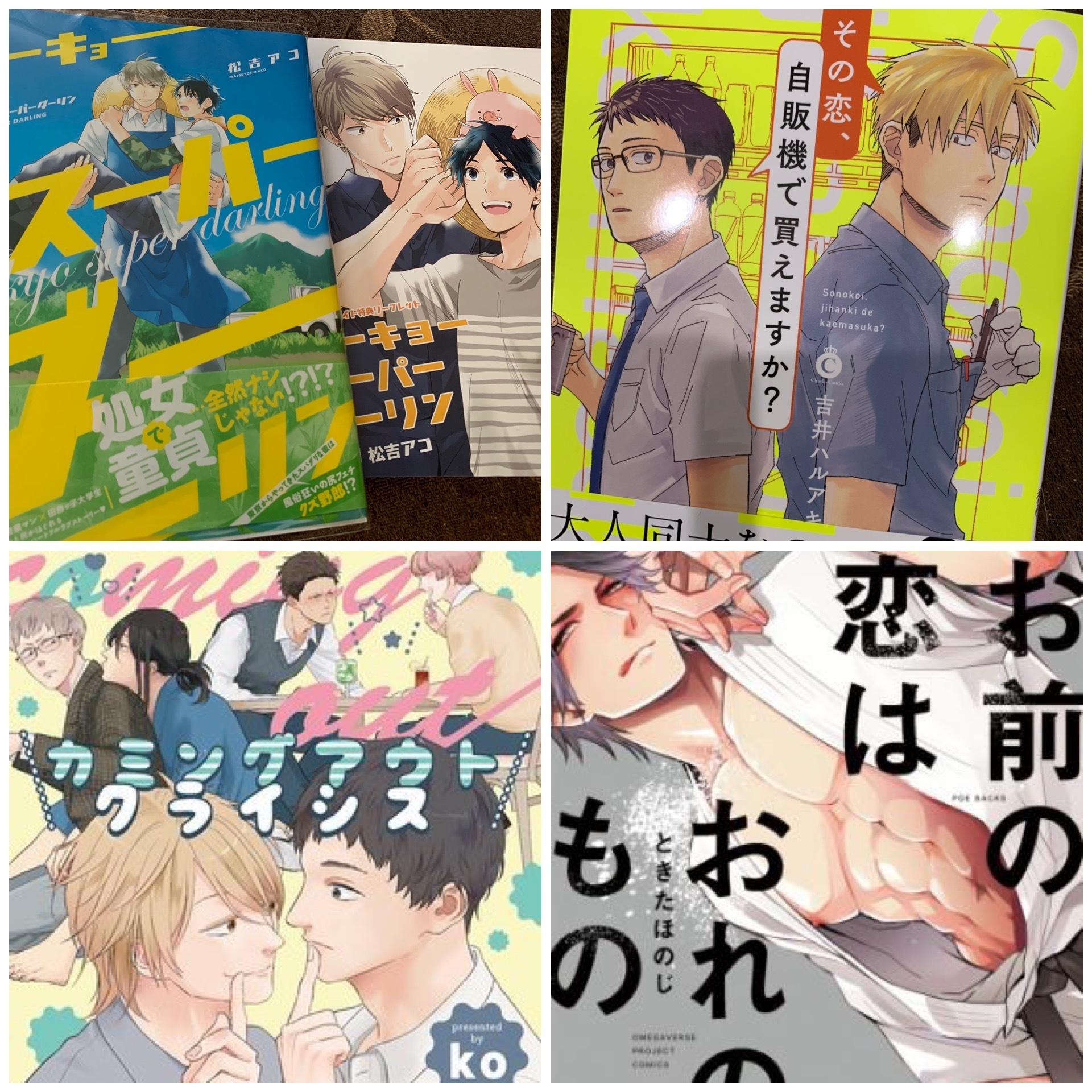 読書記録+補足11【4冊】