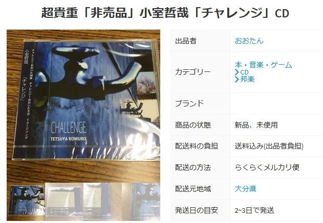 超貴重「非売品」小室哲哉「チャレンジ」CD.jpg