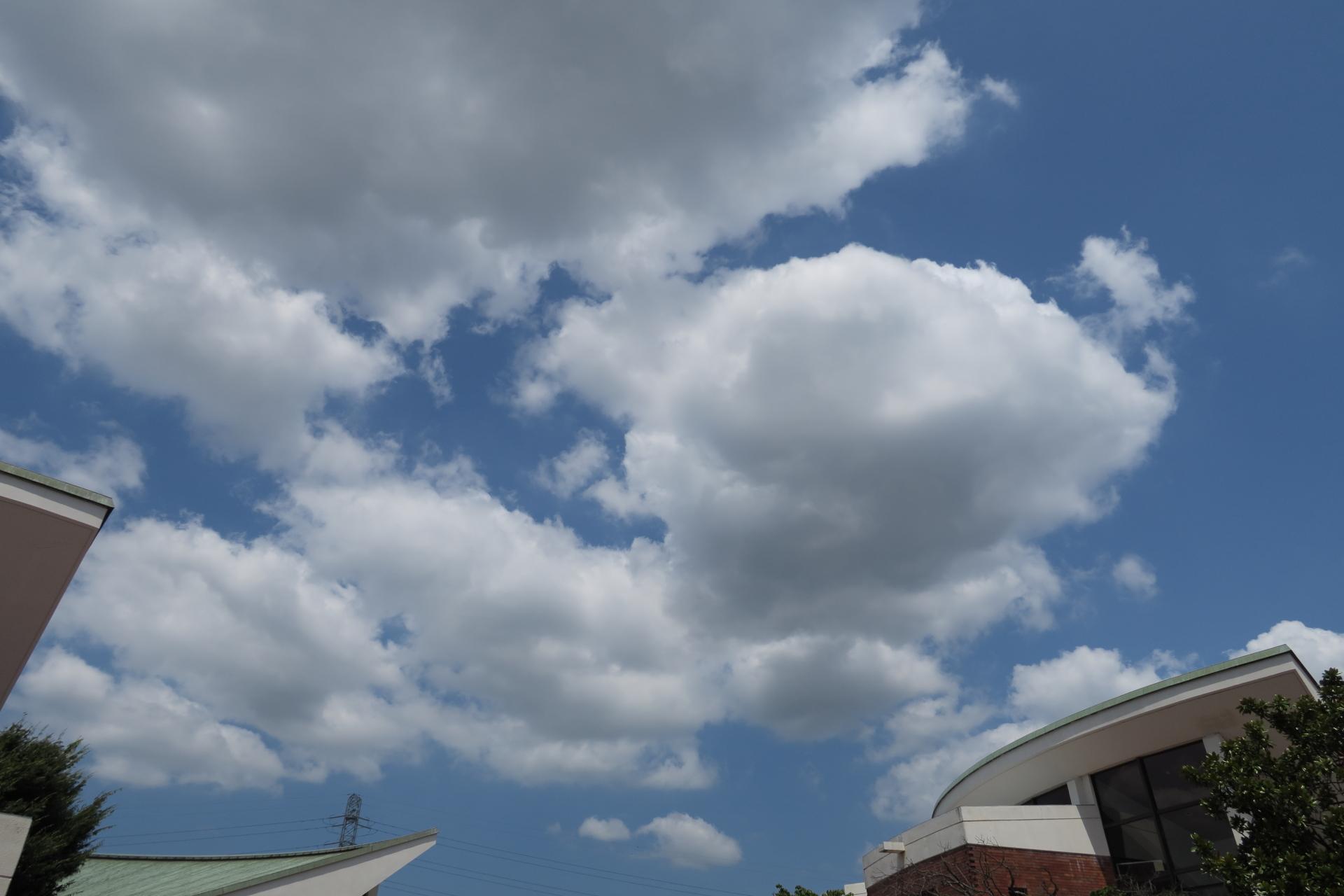 8月4日の雲