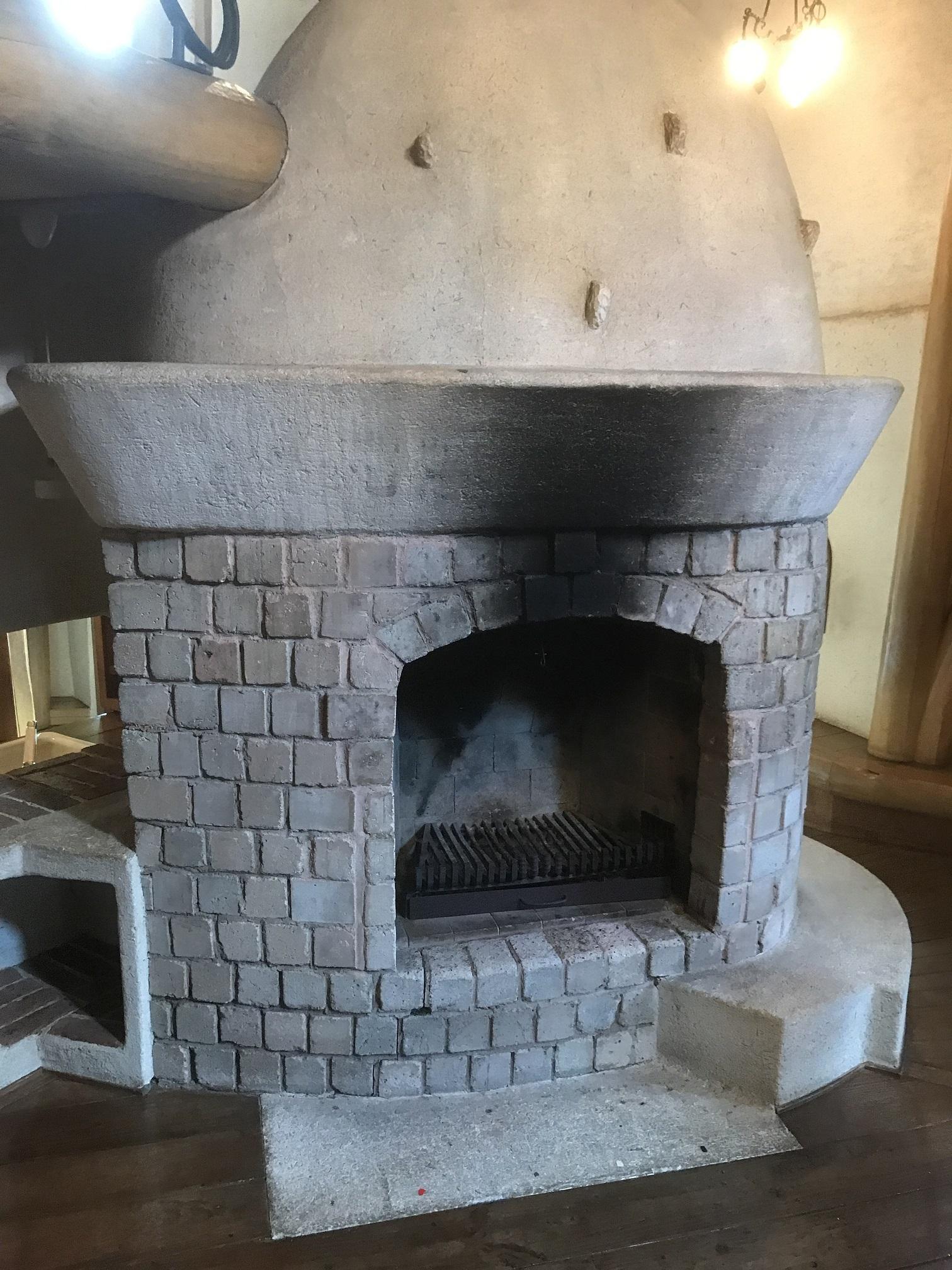 ムーミンの家の暖炉