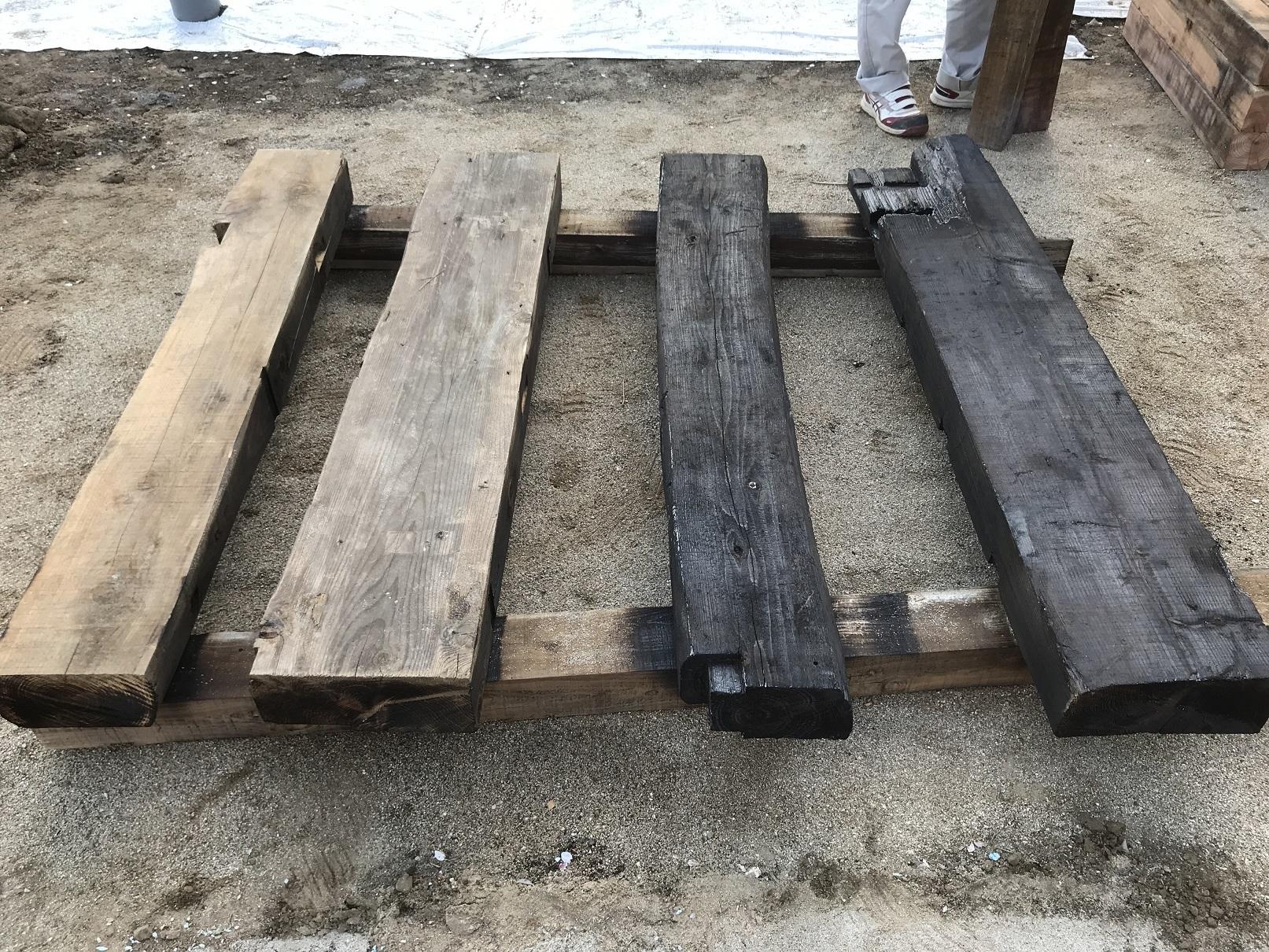 焼杉作り2