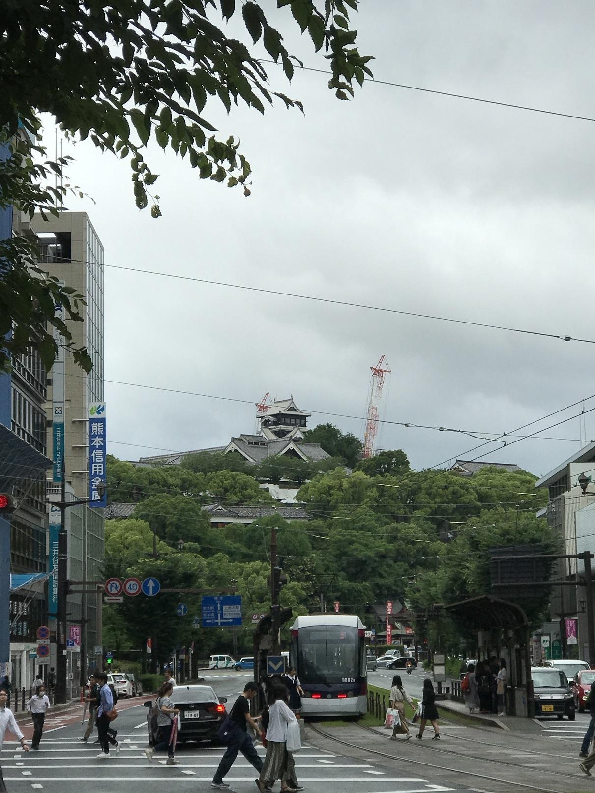 2019年6月熊本城