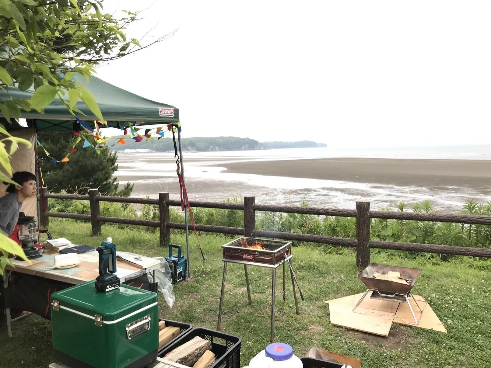 糸ヶ浜キャンプ (1)