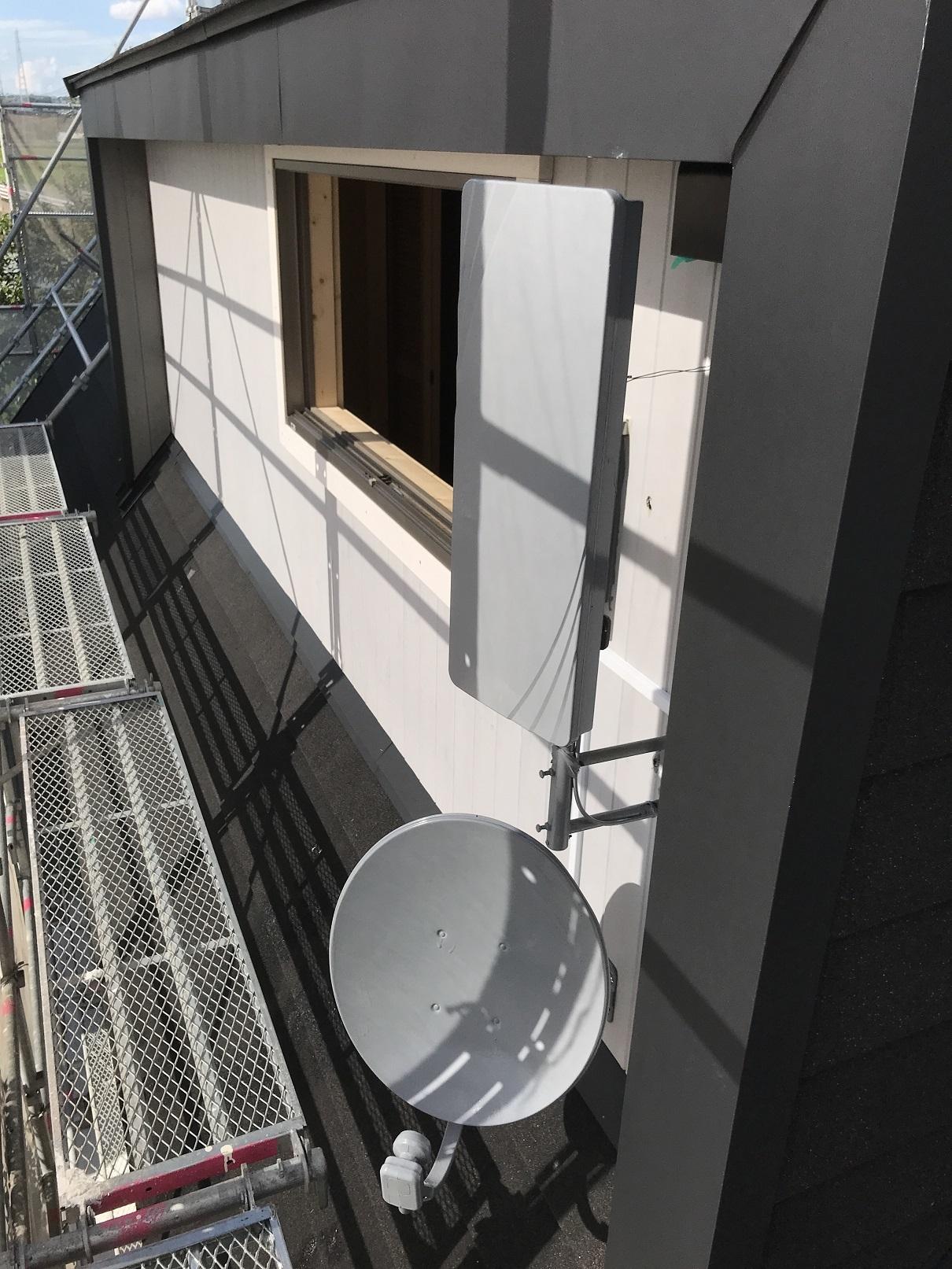 テレビアンテナ施工 (4)