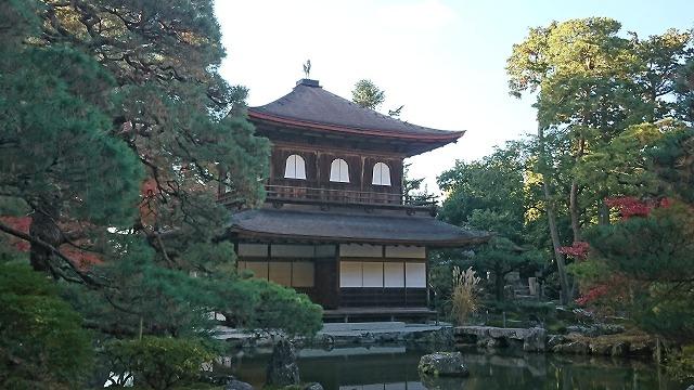 銀閣寺~東寺へ出かけてきました。
