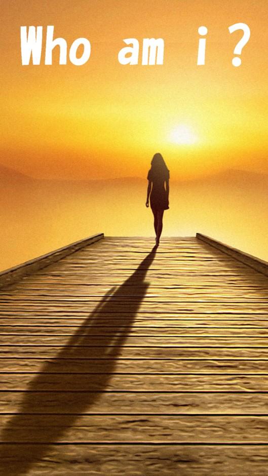 女性と太陽1