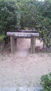 神山森林公園 イルローザの森 生垣迷路 安全脱出口