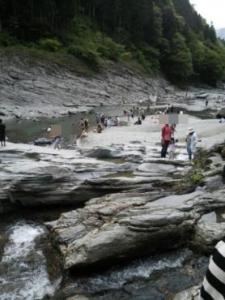 祖谷の蔓橋 祖谷渓