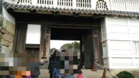 姫路城 門