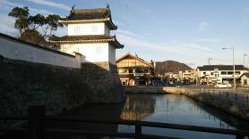 大石神社 入り口付近