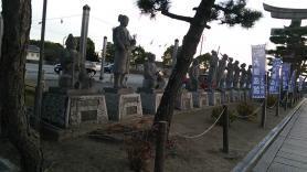 大石神社 赤穂浪士の像
