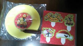 ミニオンクリスマスケーキ付属品