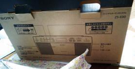 SONY パーソナルオーディオシステム ZS-E30 箱