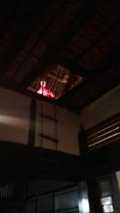 伊賀流忍者博物館 上から見張る忍者