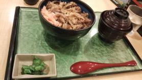 名阪上野 忍者ドライブイン 伊賀牛炙り焼肉丼