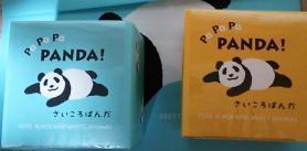 フランス屋製菓 PaPaPaPANDA! 「さいころぱんだ」