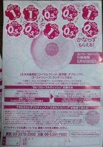 2019ヤマザキ春のパンまつり シール台紙