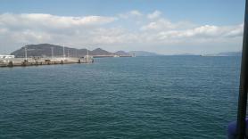 高松港からの眺め