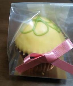 ファクトリーシン カップケーキ ラッキークローバー