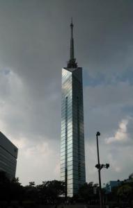 福岡タワー 全景