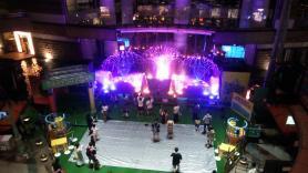 キャナルシティ福岡 噴水ショー