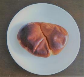 ヤマザキ クリームパンをトースターで焼く