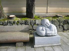 木魚に眠る像