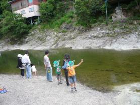 塩江温泉 河原