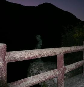 徳島 小便小僧 柵