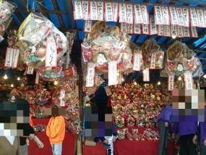 椿祭り 縁起物の店2