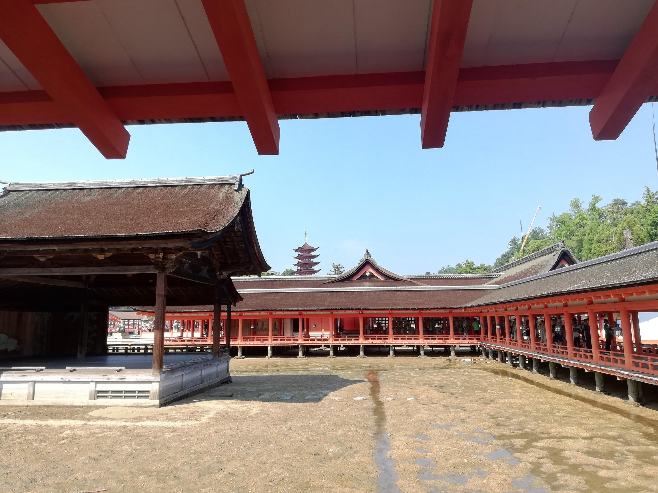 宮島(嚴島神社+五重塔)