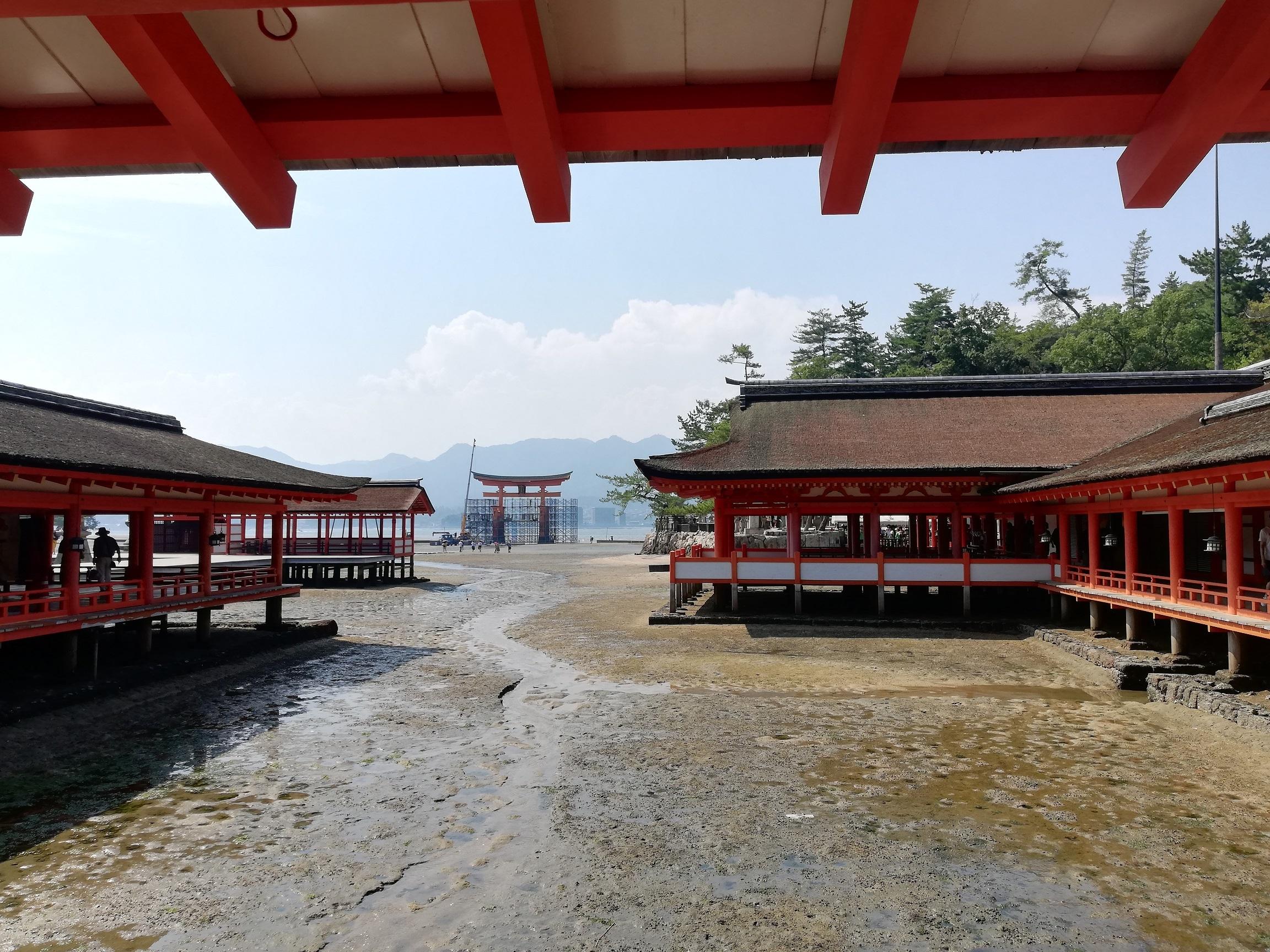 宮島(嚴島神社+大鳥居)