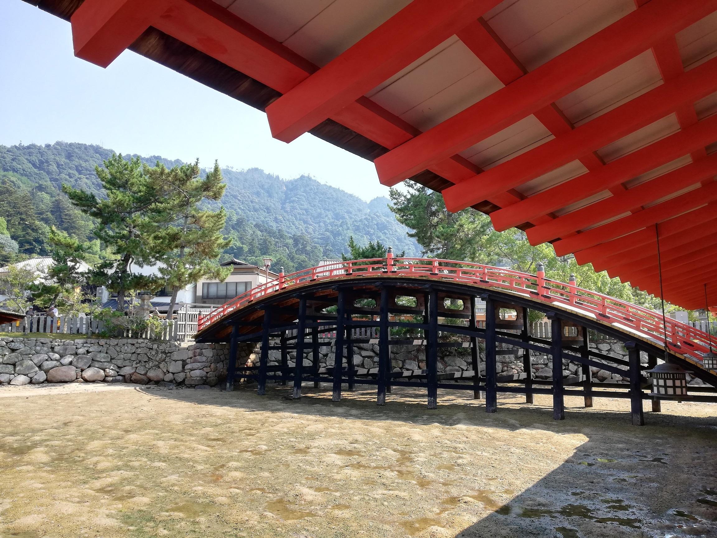 宮島(嚴島神社 反橋)