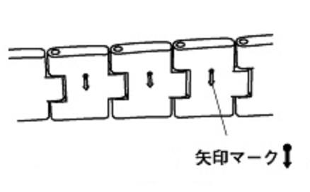 シチズン 矢印マークの刻印