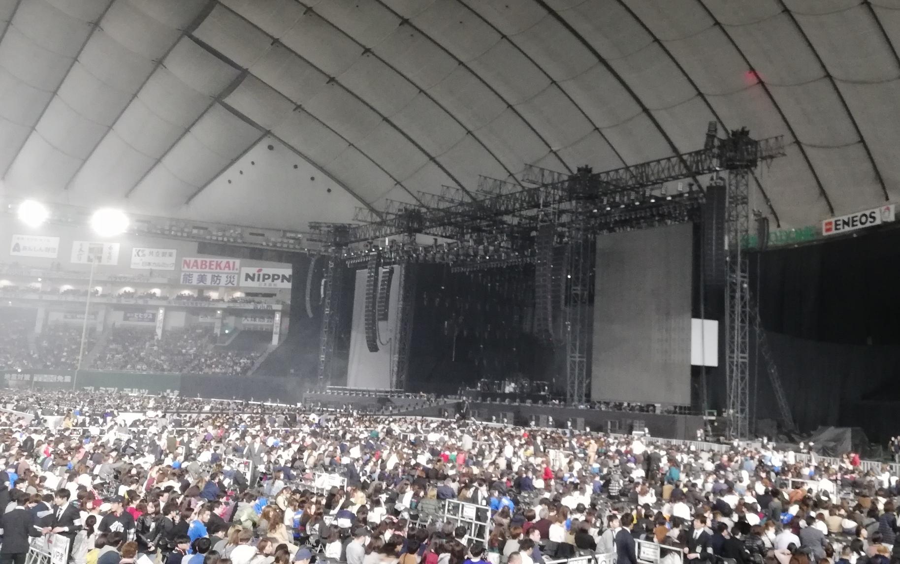 マルーン5 開演前